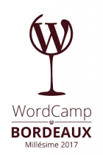 Logo Wordcamp Bordeaux 2017